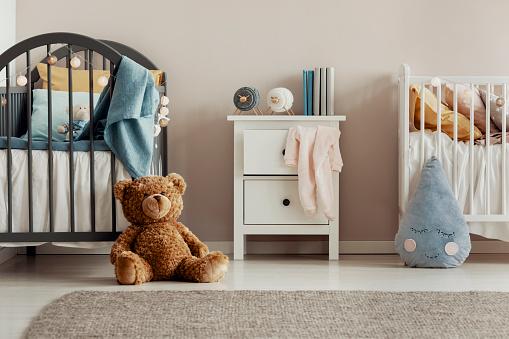 Chambres partagées ou séparées pour les enfants